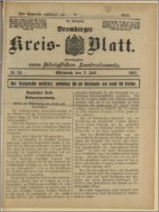 Bromberger Kreis-Blatt, 1915, nr 54
