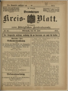 Bromberger Kreis-Blatt, 1915, nr 56