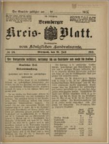 Bromberger Kreis-Blatt, 1915, nr 58