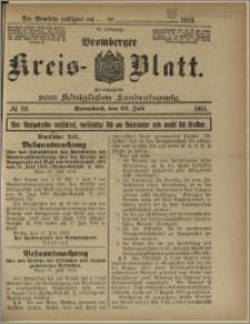 Bromberger Kreis-Blatt, 1915, nr 59