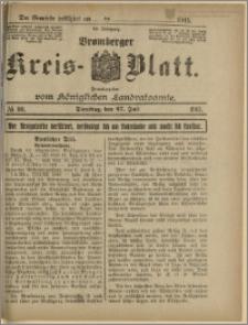 Bromberger Kreis-Blatt, 1915, nr 60