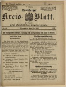 Bromberger Kreis-Blatt, 1915, nr 61