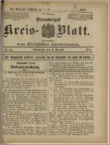 Bromberger Kreis-Blatt, 1915, nr 62