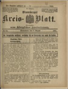 Bromberger Kreis-Blatt, 1915, nr 63