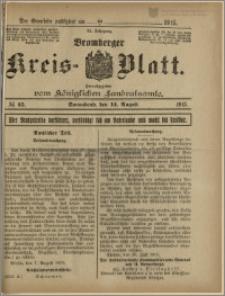 Bromberger Kreis-Blatt, 1915, nr 65