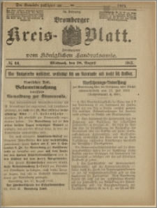 Bromberger Kreis-Blatt, 1915, nr 66