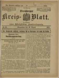 Bromberger Kreis-Blatt, 1915, nr 67