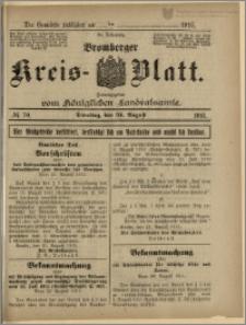 Bromberger Kreis-Blatt, 1915, nr 70