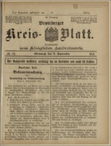 Bromberger Kreis-Blatt, 1915, nr 72