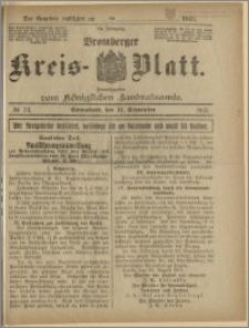 Bromberger Kreis-Blatt, 1915, nr 73