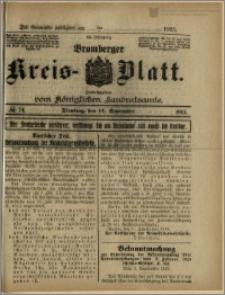 Bromberger Kreis-Blatt, 1915, nr 74
