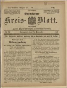 Bromberger Kreis-Blatt, 1915, nr 75