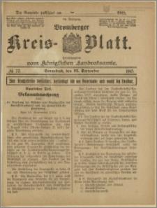 Bromberger Kreis-Blatt, 1915, nr 77