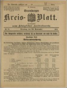 Bromberger Kreis-Blatt, 1915, nr 78