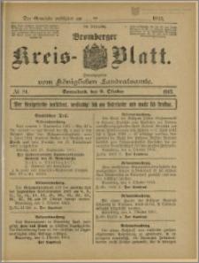 Bromberger Kreis-Blatt, 1915, nr 81