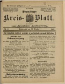 Bromberger Kreis-Blatt, 1915, nr 85