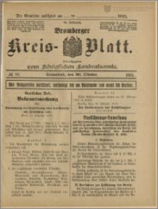 Bromberger Kreis-Blatt, 1915, nr 87