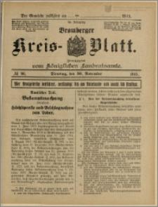 Bromberger Kreis-Blatt, 1915, nr 96