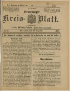 Bromberger Kreis-Blatt, 1915, nr 101