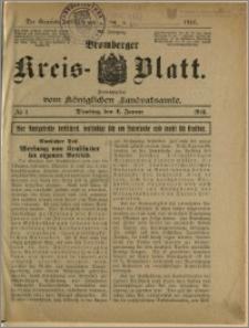 Bromberger Kreis-Blatt, 1916, nr 1