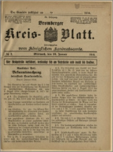 Bromberger Kreis-Blatt, 1916, nr 3
