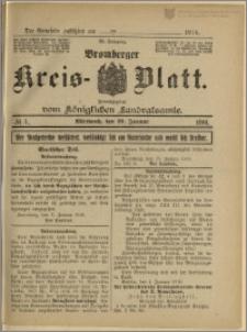 Bromberger Kreis-Blatt, 1916, nr 5