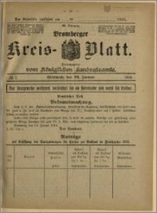 Bromberger Kreis-Blatt, 1916, nr 7