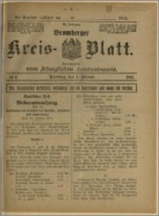 Bromberger Kreis-Blatt, 1916, nr 9
