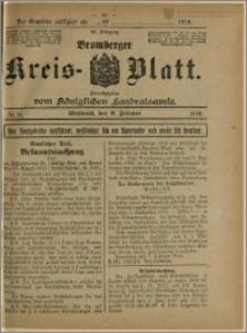Bromberger Kreis-Blatt, 1916, nr 11