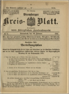 Bromberger Kreis-Blatt, 1916, nr 14