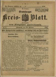 Bromberger Kreis-Blatt, 1916, nr 15