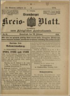 Bromberger Kreis-Blatt, 1916, nr 16