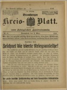 Bromberger Kreis-Blatt, 1916, nr 18