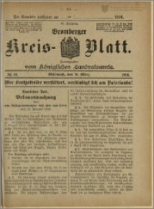 Bromberger Kreis-Blatt, 1916, nr 19