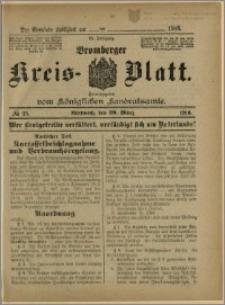 Bromberger Kreis-Blatt, 1916, nr 25