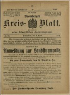 Bromberger Kreis-Blatt, 1916, nr 26
