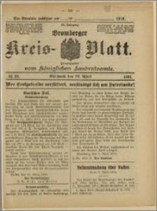 Bromberger Kreis-Blatt, 1916, nr 29