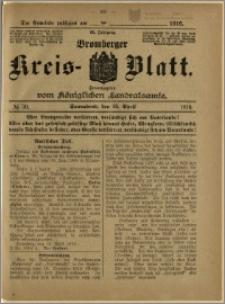 Bromberger Kreis-Blatt, 1916, nr 30