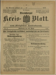 Bromberger Kreis-Blatt, 1916, nr 31