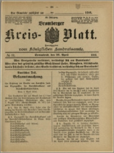 Bromberger Kreis-Blatt, 1916, nr 32