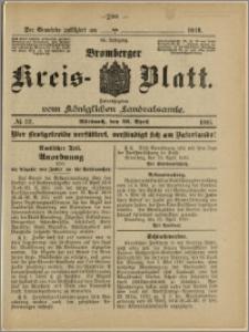 Bromberger Kreis-Blatt, 1916, nr 33