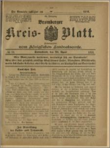 Bromberger Kreis-Blatt, 1916, nr 34