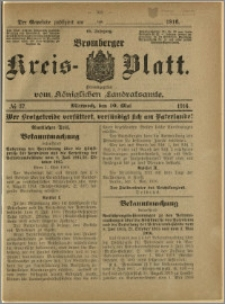 Bromberger Kreis-Blatt, 1916, nr 37