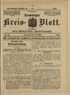 Bromberger Kreis-Blatt, 1916, nr 39
