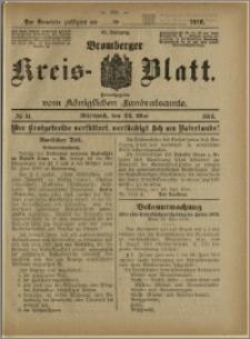 Bromberger Kreis-Blatt, 1916, nr 41