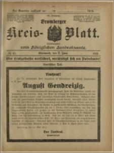 Bromberger Kreis-Blatt, 1916, nr 45