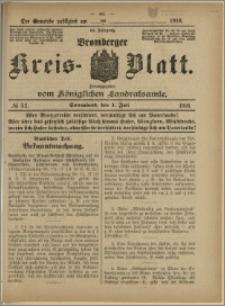 Bromberger Kreis-Blatt, 1916, nr 52