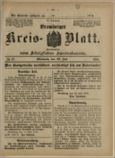 Bromberger Kreis-Blatt, 1916, nr 57