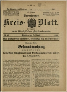 Bromberger Kreis-Blatt, 1916, nr 63