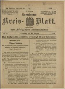 Bromberger Kreis-Blatt, 1916, nr 65